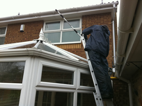 Conservatory Roof Cleaner Covering The Kent Area Castle